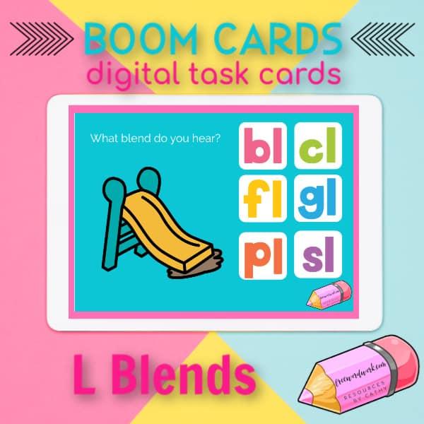 L Blend Boom Cards