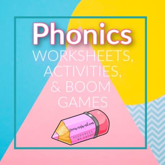 free phonics worksheets on free word work