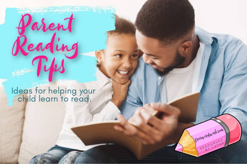 These parent reading tips will help you as you work on reading with your children at home.