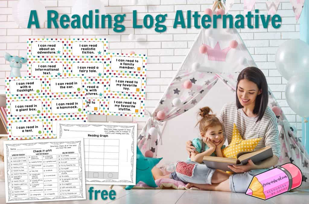 Looking for a reading log alternative? Try this free, interactive twist on reading logs collection.