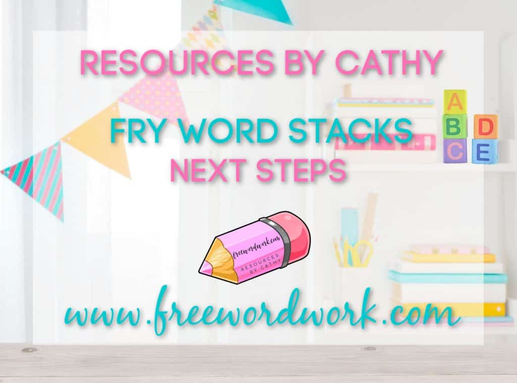 This video tutorial provides the next steps in Fry Word stacks practice. Watch to learn ideas for helping children master sight words.