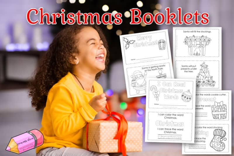These two little Christmas booklets will be a fun way for your children to practice reading during the holiday season.