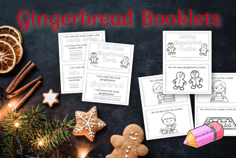 These new gingerbread booklets will be a fun addition to your gingerbread focus in the classroom.