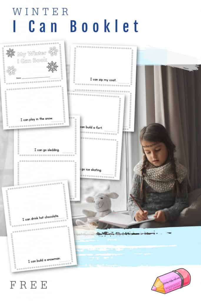 Download this winter I can booklet to help beginning readers work on reading and comprehension skills. From Free Word Work.